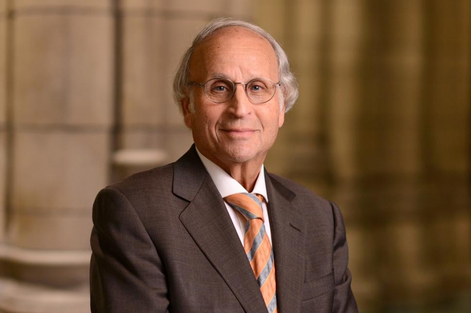 Dr. Arthur S. Levine, Pitt's senior vice chancellor for the health sciences